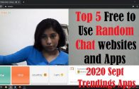 Top 5 Random Video Chat Apps and Websites 2020 | FREE to use Random Chat Apps